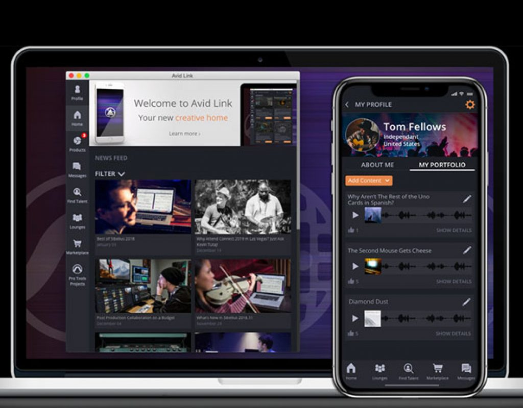Avid at NAMM 2019: events will be streamed using Avid Link