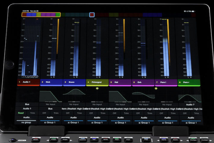 Avid S1: the power of larger consoles in a solution for home studios 1