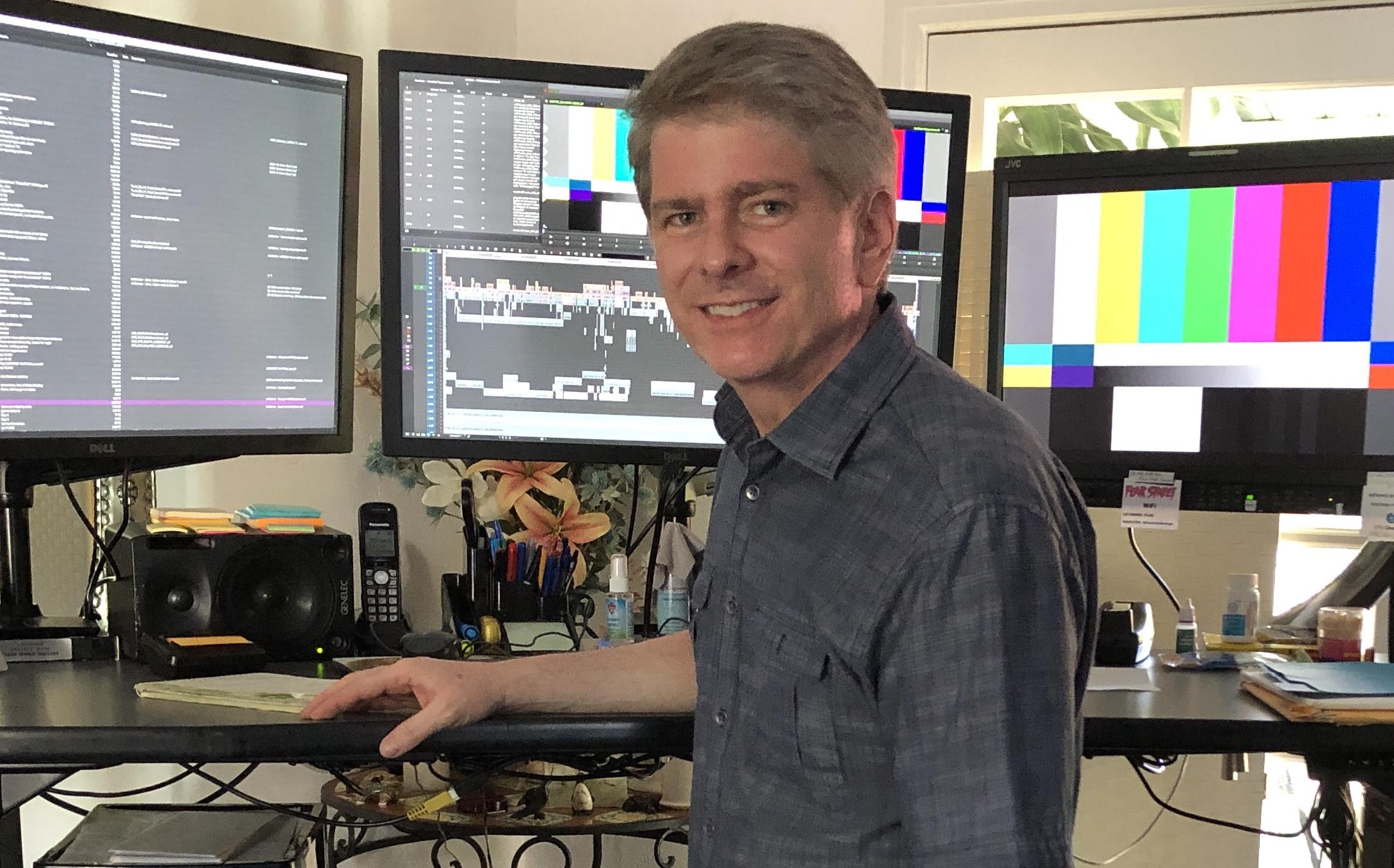 Antebellum editor, John Axelrad, ACE