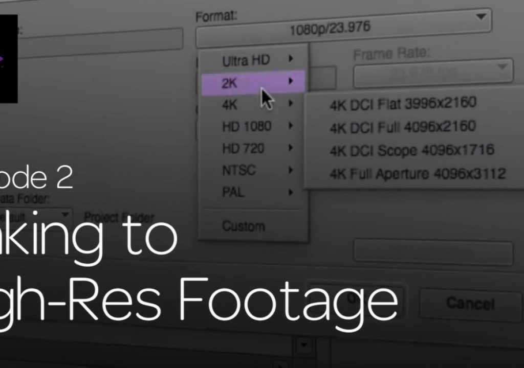 Get Started Fast with Media Composer for High-Res Workflows—Part 2 1