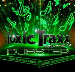 Edgy Electronic Sound In All-New Toxic Traxx™ Layered Music Release 3