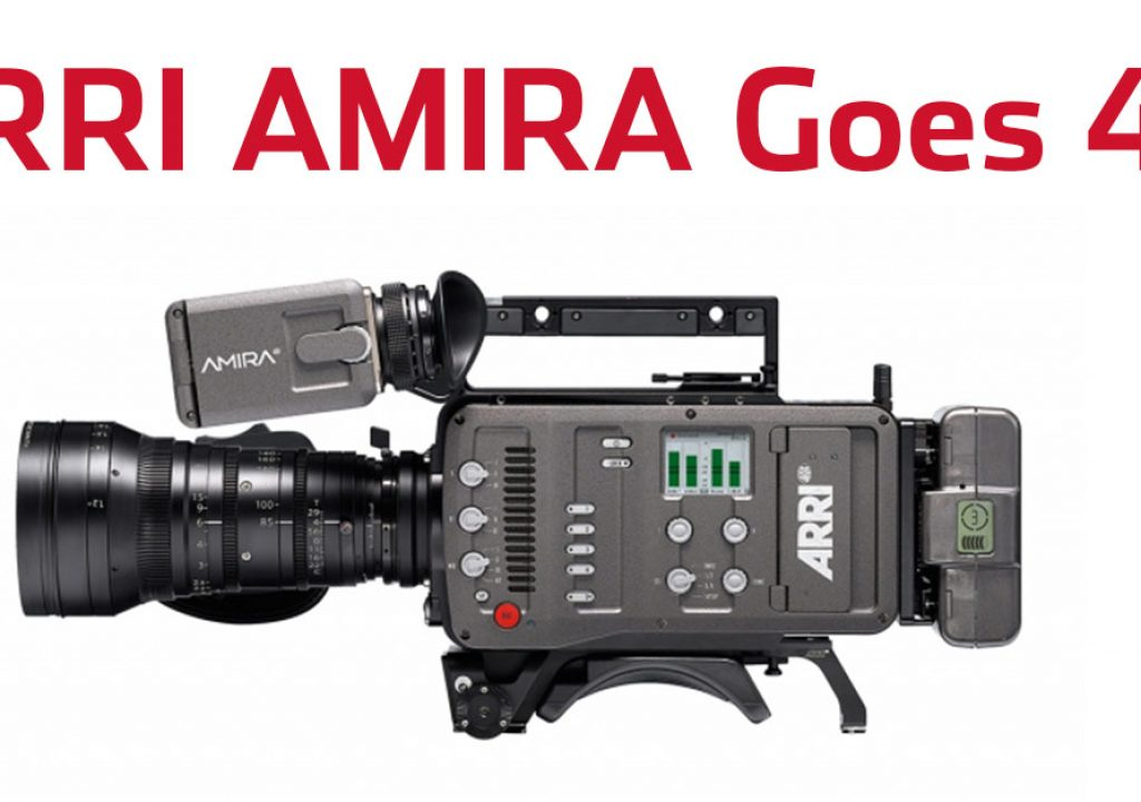 ARRI To Enable 4k Recording On The AMIRA 3