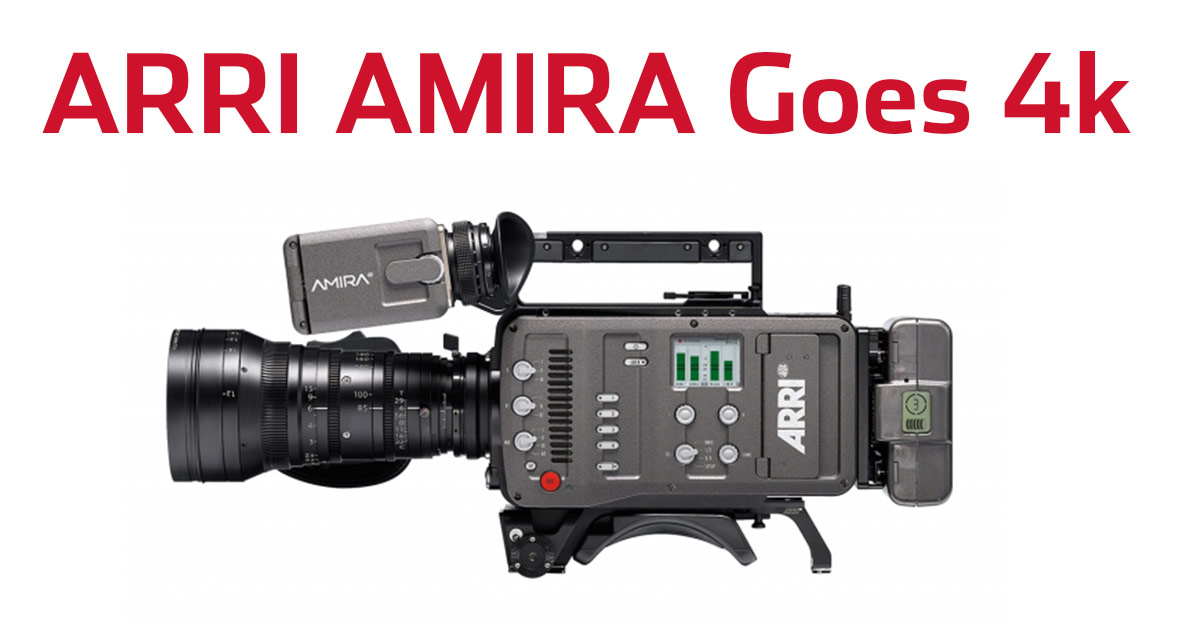 ARRI To Enable 4k Recording On The AMIRA 18