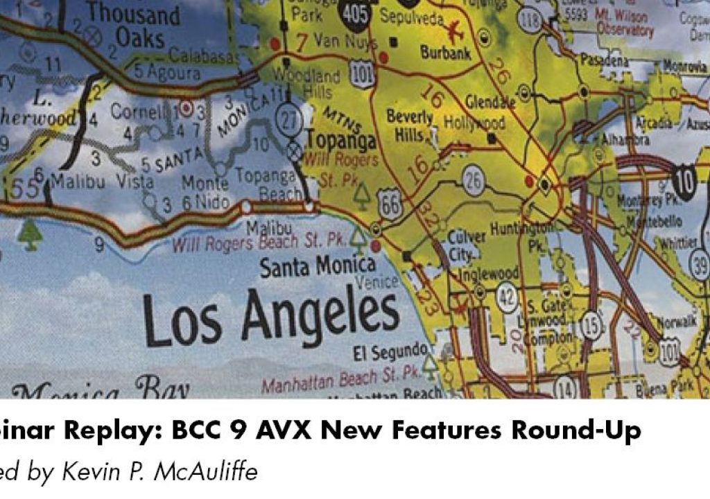 BCC 9 AVX New Features Round-Up 1