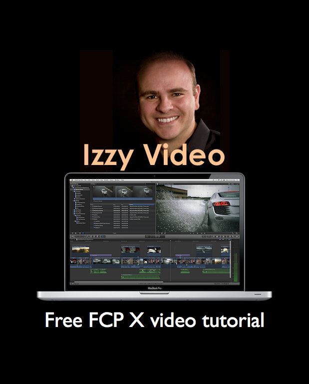 Izzy Video produces free 2:39 FCP X video tutorial 1