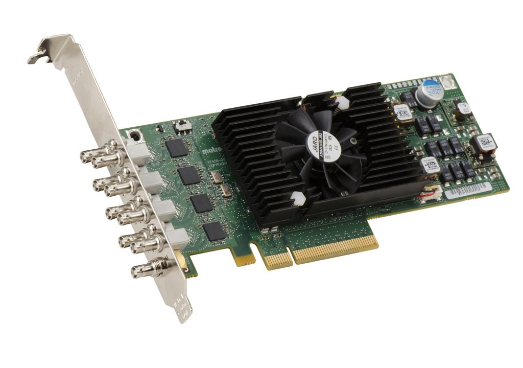 Matrox Announces Low-Profile, Multi-Channel SDI Card with High-Performance Hardware Processing 3