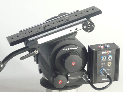 OConnor Introduces 120EXe Encoding Heavy Duty Fluid Head for Visual Effects125 1