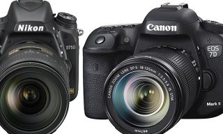 Canon EOS 7D MK II and Nikon D750: The Need for Speed