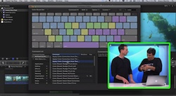 Keyboard-driven Color Correction in Final Cut Pro X 1