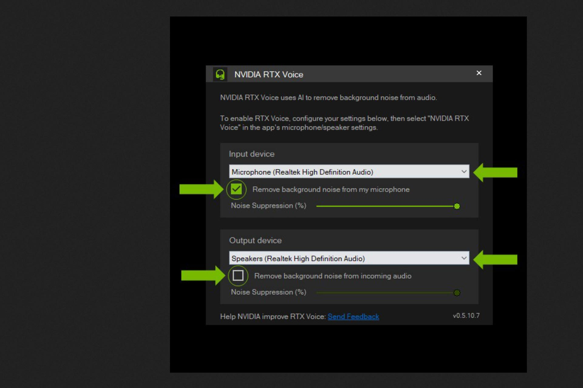 NVIDIA RTX and Krisp: remove background noise from your broadcasts