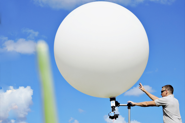 Have you thought about using a balloon for video and photography?
