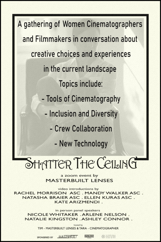 """Shatter the Ceiling"" invitation"