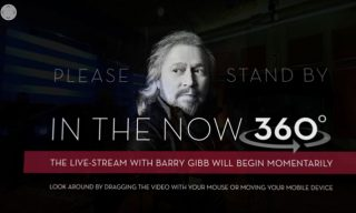 Bee Gees legend Barry Gibb in 360