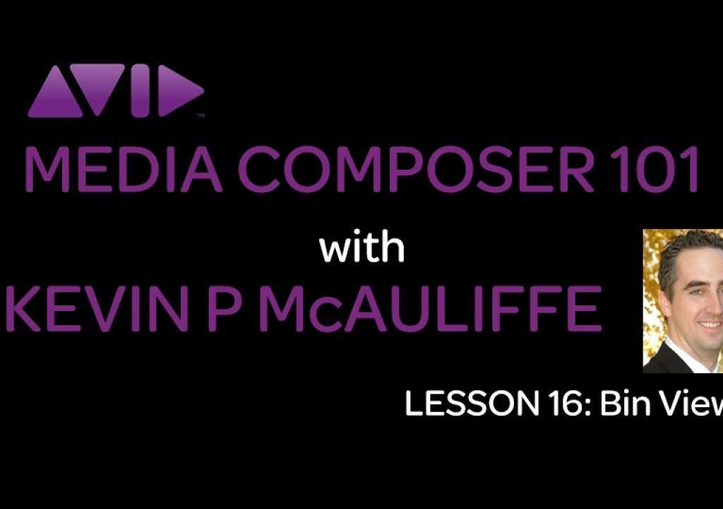 Media Composer 101 - Lesson 16 - Bin Views 1