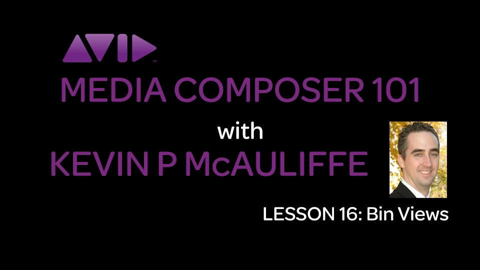 Media Composer 101 - Lesson 16 - Bin Views 5
