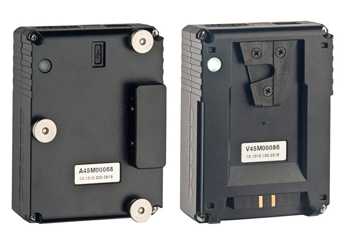 Vmicro and Amicro ultra-compact bebob battery packs at NAB 2019