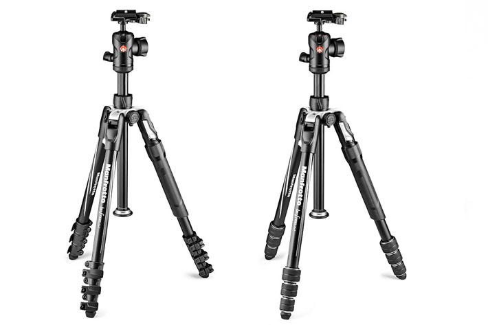 Befree 2N1 for travelers: this tripod transforms into a monopod