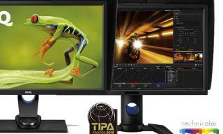 Technicolor certifies BenQ monitor