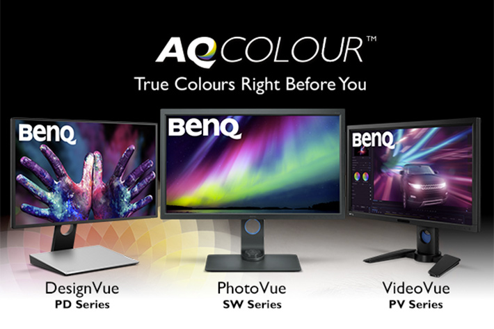 BenQ AQCOLOUR: new technology for professional monitors