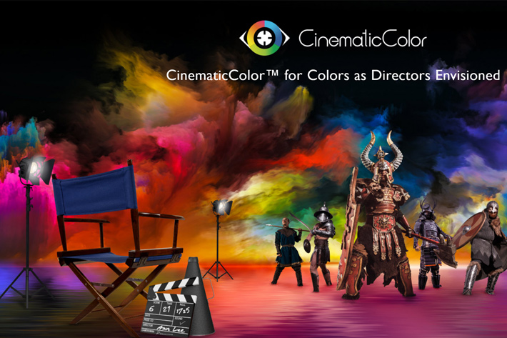 BenQ cinema projectors with CinematicColor