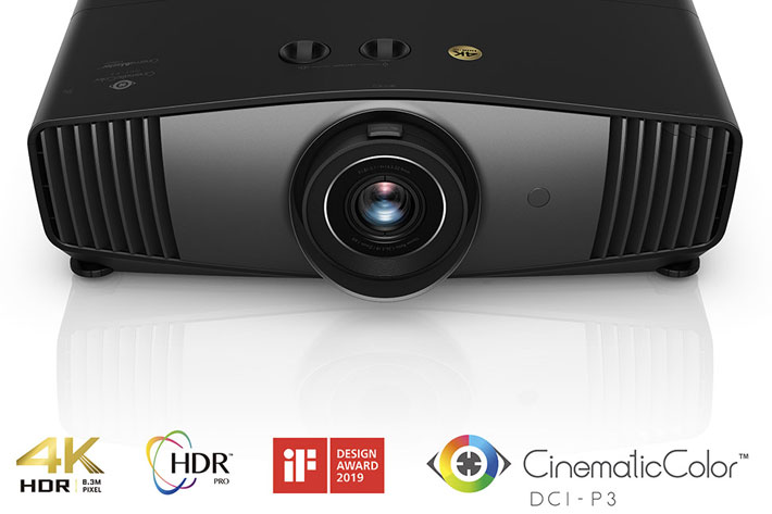 BenQ launches new true 4K UHD HDR Cinema projector
