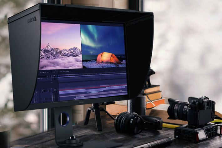 BenQ SW270C: new photographer monitor receives Pantone validation by