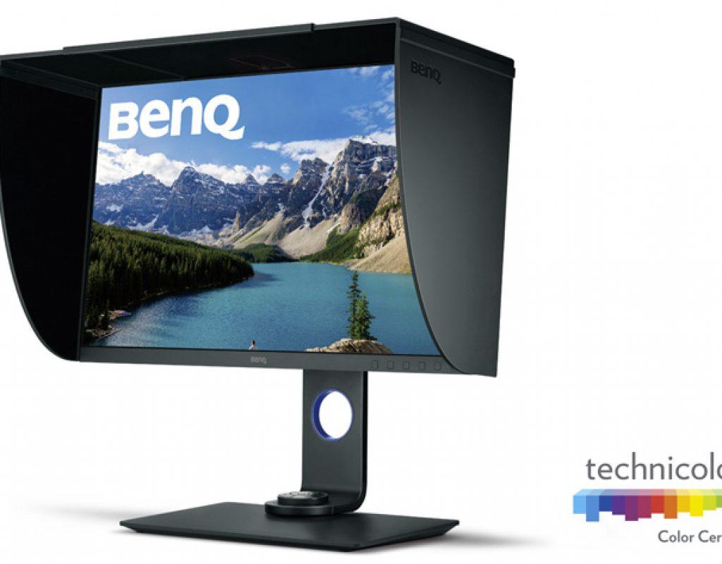 BenQ SW271 4K UHD: designed for photographers