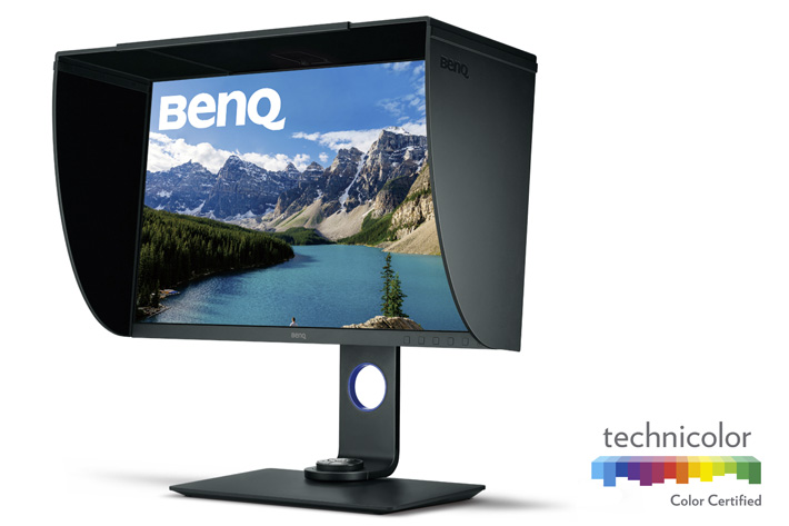 BenQ SW271 4K UHD: made for photographers 3