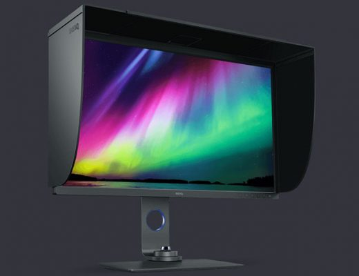 BenQ SW321C: a new monitor for professional image editing 12
