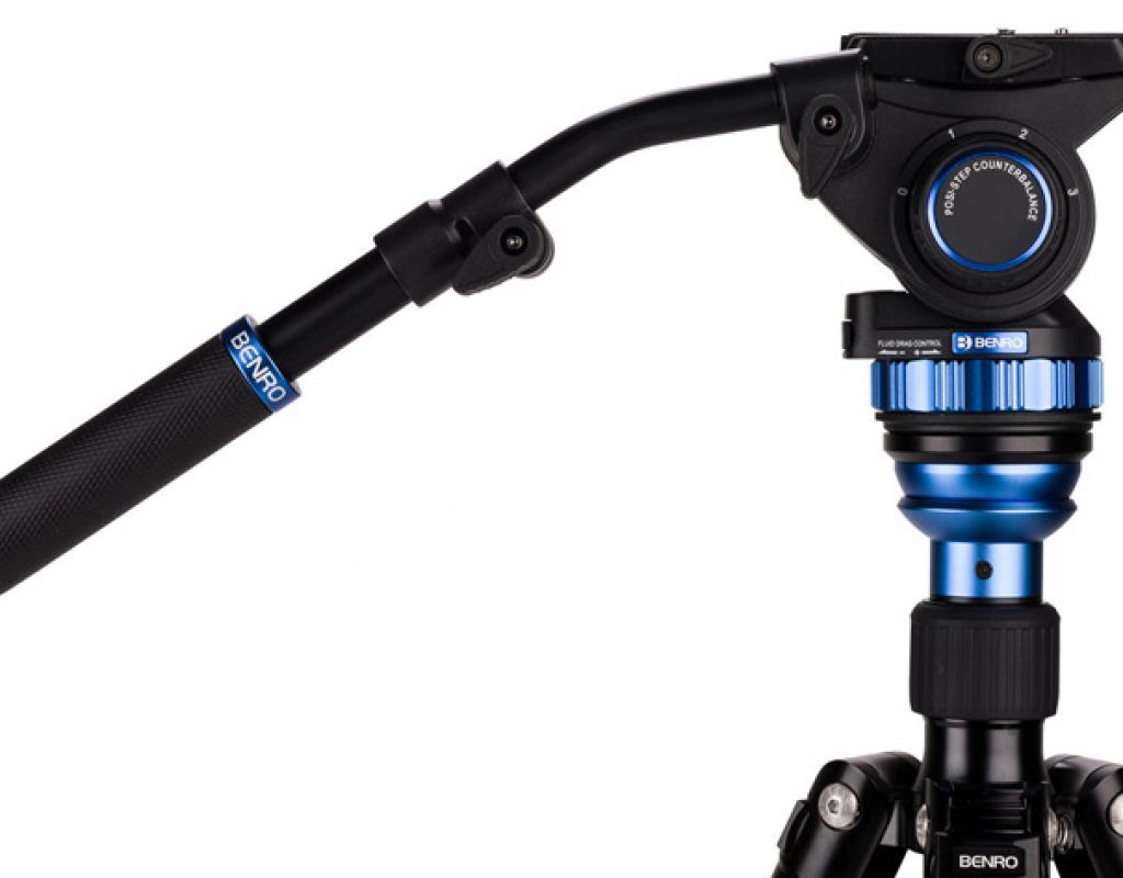 Benro Aero 7: video tripod is a monopod too