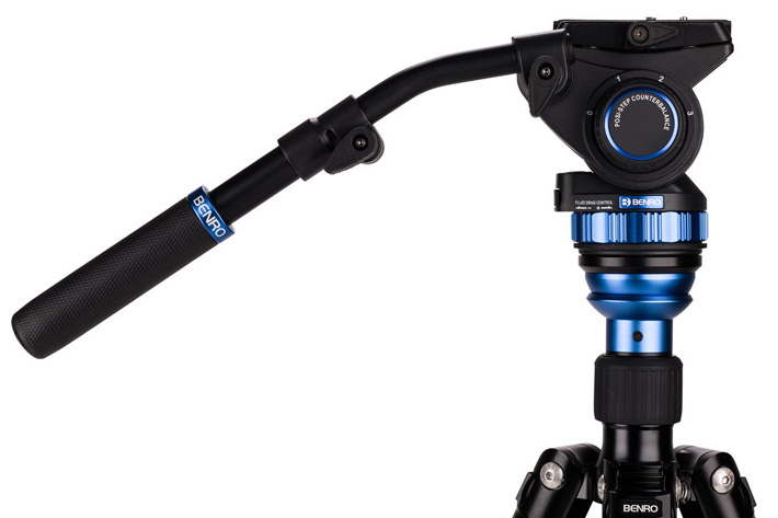 Benro Aero 7: video tripod is a monopod too