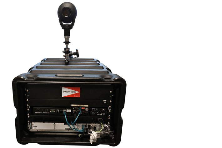 Clarity 800, world's first miniature HFR camera for live production