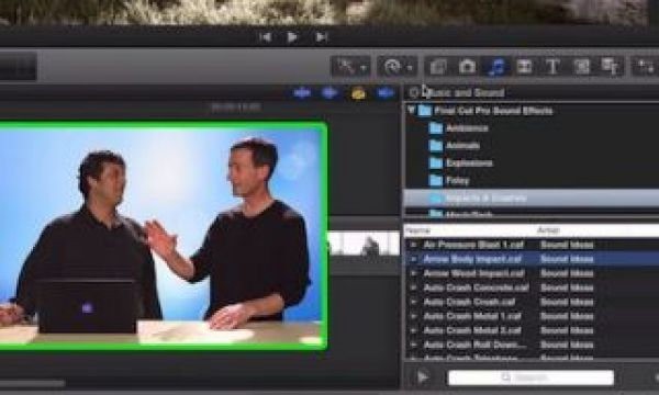 Managing Sound Effects in Final Cut Pro X