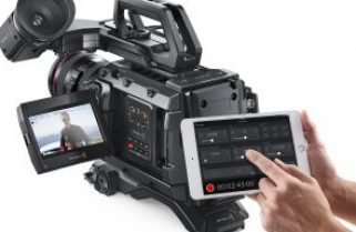 Blackmagic Releases Bluetooth Camera Control App and New Firmware For URSA Mini Pro