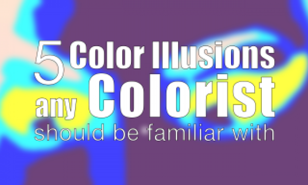 5 Color Illusions that Colorists & filmmakers should be familiar with