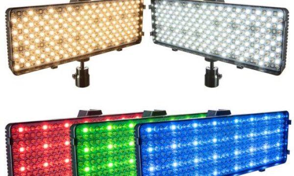 Polaroid RGB LED Camera/Camcorder Light