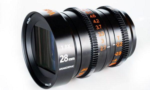Vazen announced 28mm T2.2 1.8x Anamorphic lens