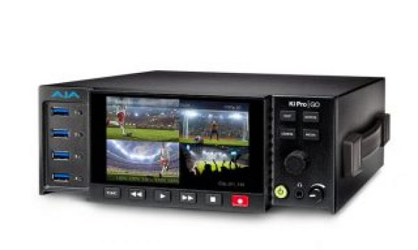 AJA Ki Pro GO, a standalone multi-channel H.264 recorder/player