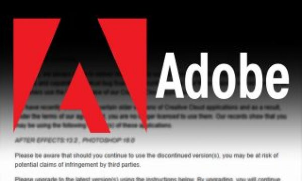 Adobe Tightens The Leash