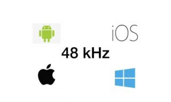 48 kHz: How to set it in Android, iOS, macOS and Windows
