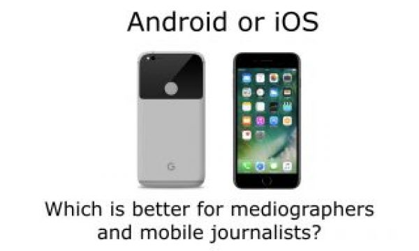 Android vs iOS: a mediographer's dilemma 2016.12