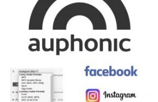 Auphonic's animated Audiogram for YouTube & Facebook
