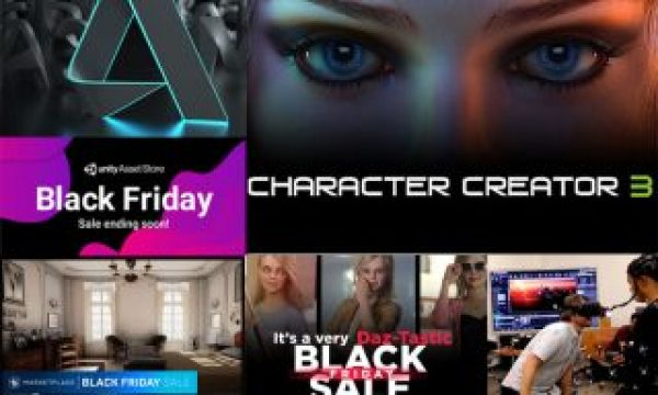 PVC's Black Friday 2019 best deals: animation and virtual production