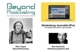 Hindenburg Journalist Pro, the multitrack editor made for audio storytellers