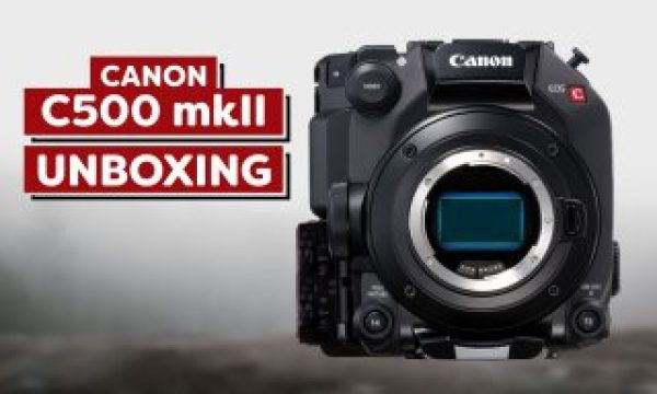 Canon C500 Mark II Unboxing and First Impressions