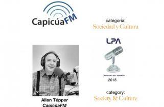 <em>CapicúaFM</em> wins 2018 award from LPA