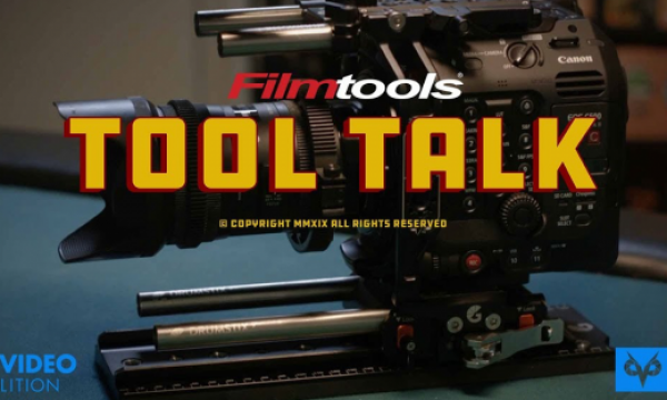Bright Tangerine Left Field Cage for the C500mkII // Tool Talk