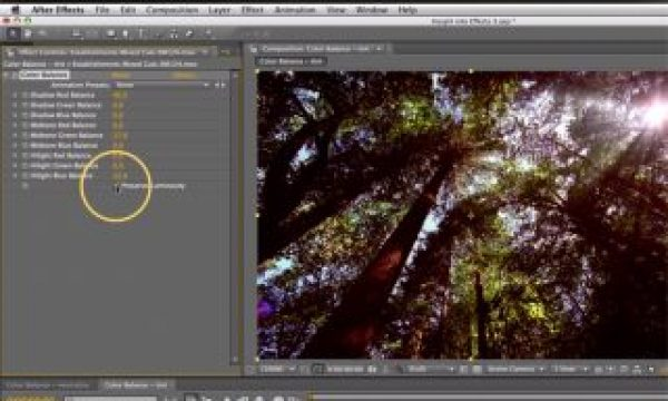 After Effects Classic Course: Color Balance 2 – Creative