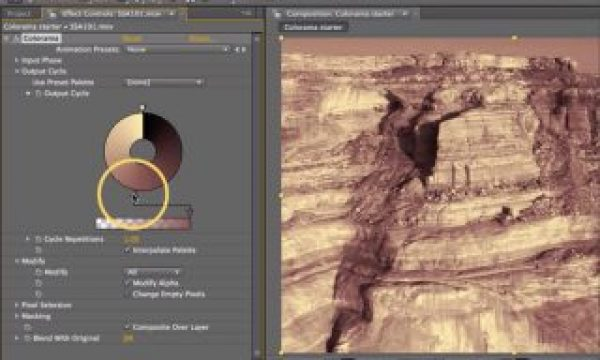 After Effects Classic Course: Colorama 2 – Tinting