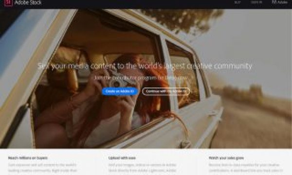 Adobe launches a public beta of their new Adobe Stock Contributor Site